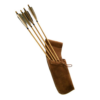 Old Fashioned Arrow Quivers