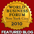 World Business Forum Featured Blogger